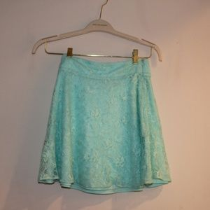 Francesca's Lace Skirt
